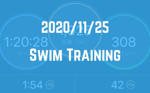 201125_Swimトレーニングログ